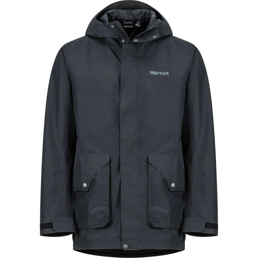 【クーポンで最大2000円OFF】(取寄)マーモット メンズ ウェンド ジャケット Marmot Men's Wend Jacket Black