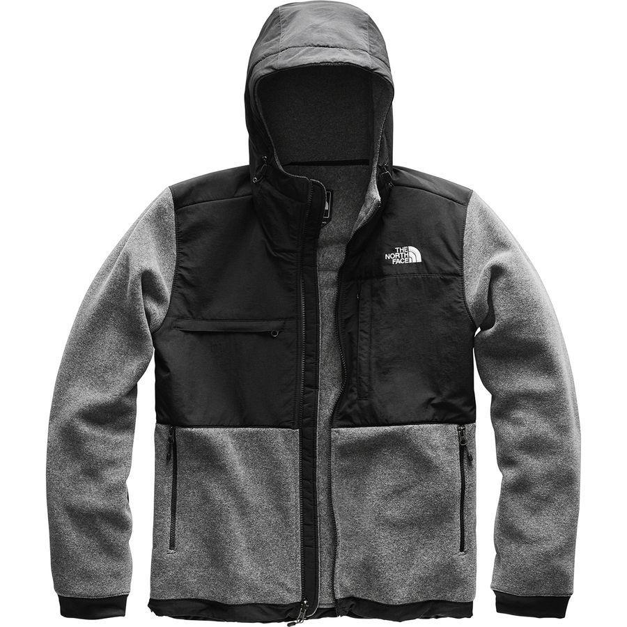 【ハイキング 登山 マウンテン アウトドア】【ウェア アウター】 (取寄)ノースフェイス メンズ デナリ 2 フーデッド フリース ジャケット The North Face Men's Denali 2 Hooded Fleece Jacket Charcoal Grey Heather