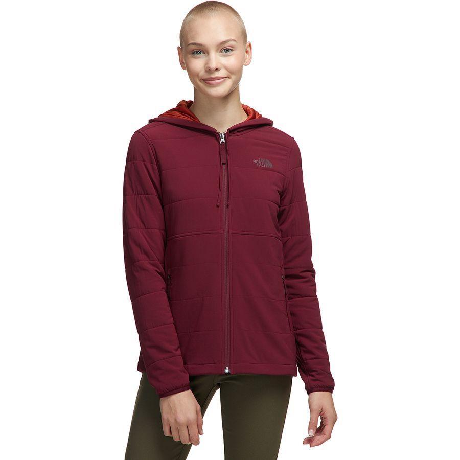 (取寄)ノースフェイス レディース マウンテン トレーナー 3.0フルジップ パーカー The North Face Women Mountain 3.0 Full-Zip Hoodie Sweatshirt Deep Garnet Red/Picante Red