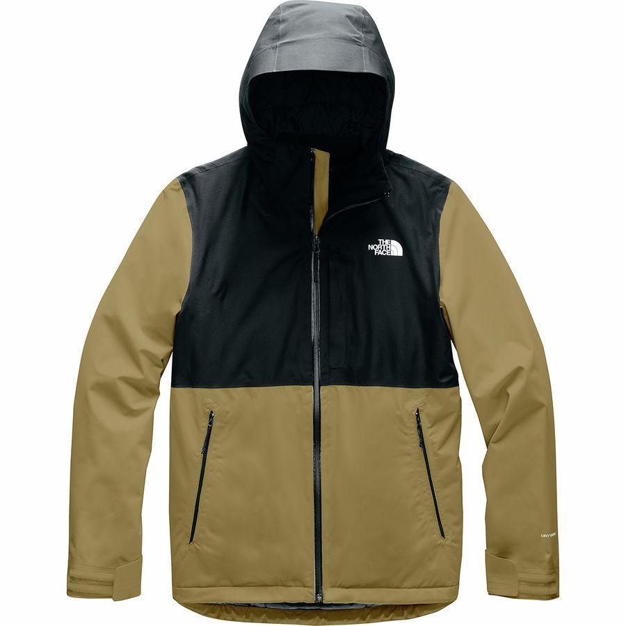 スーパーSALE 17000点大特価!ハイキング 登山 マウンテン アウトドアウェア アウター大きいサイズ ビッグサイズ スーパーセール 対象 (取寄)ノースフェイス メンズ インラックス インサレーテッド ジャケット The North Face Men's Inlux Insulated Jacket British Khaki/Tnf Black