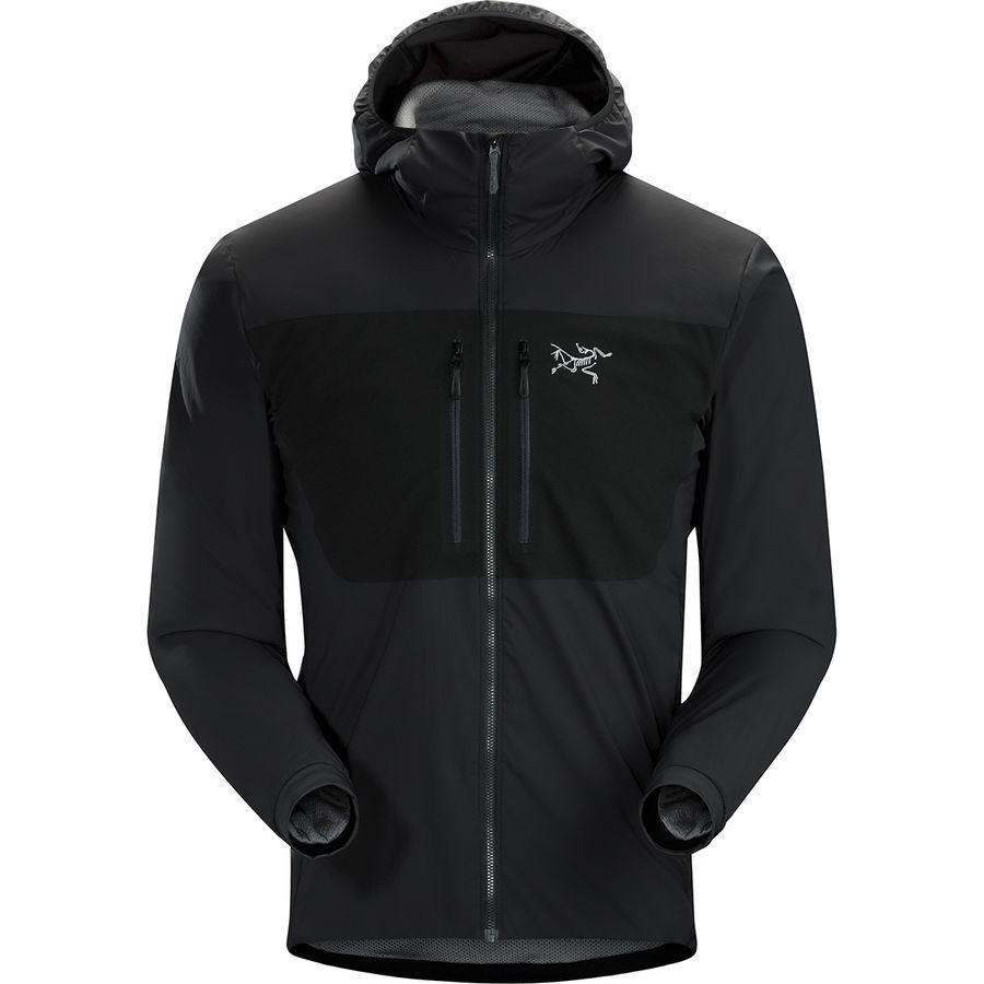 【マラソン ポイント10倍】(取寄)アークテリクス メンズ プロトン FL フーデッド インサレーテッド ジャケット Arc'teryx Men's Proton FL Hooded Insulated Jacket Black
