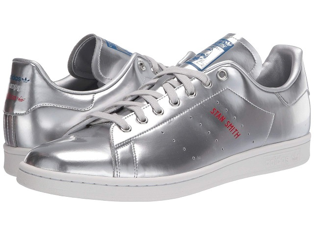 (取寄)アディダス オリジナルス メンズ スタン スミス adidas originals Men's adidas Originals Stan Smith  Silver/Silver/Crystal White