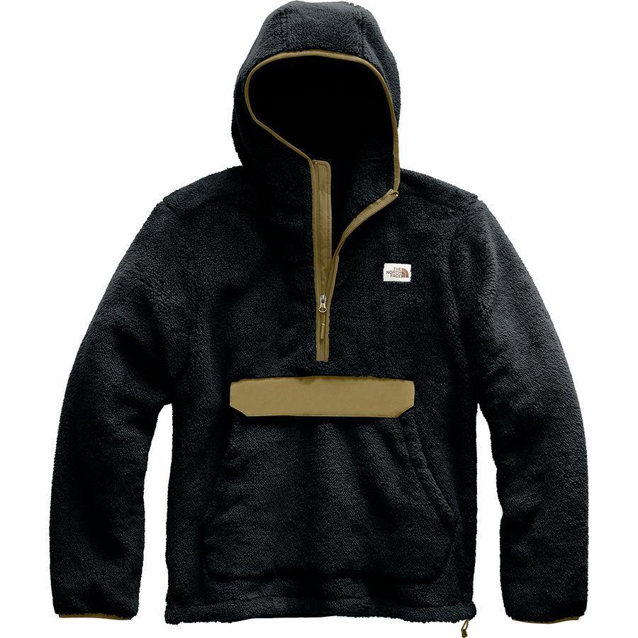 【エントリーでポイント10倍】(取寄)ノースフェイス メンズ Campshire プルオーバー パーカー The North Face Men's Campshire Hoodie Pullover Tnf Black/British Khaki