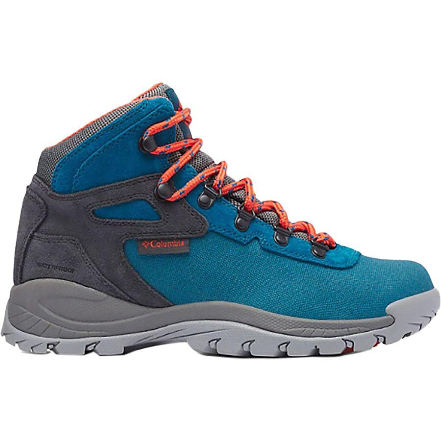 【クーポンで最大2000円OFF】(取寄)コロンビア レディース ニュートン リッジ LT WP ハイキング ブーツ Columbia Women Newton Ridge LT WP Hiking Boot Dark Turquoise/Zing
