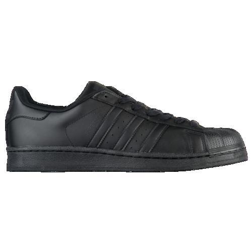 (取寄)アディダス メンズ オリジナルス スーパースター Men's adidas Originals Superstar Black Black Black