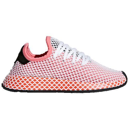 (取寄)アディダス レディース オリジナルス ディーラプト ランナー Women's adidas Originals Deerupt Runner Chalk Pink Chalk Pink Bold Orange