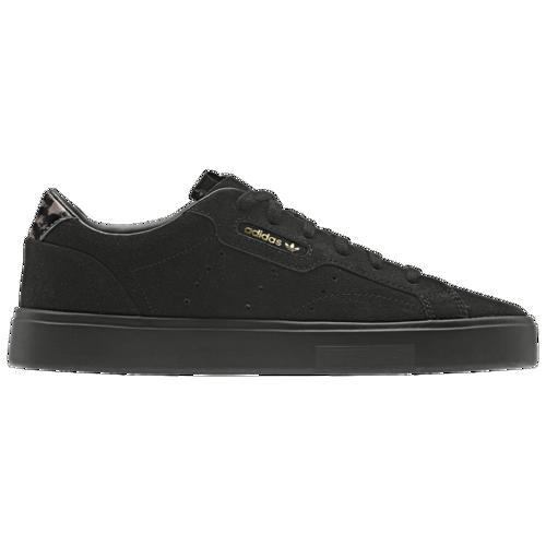(取寄)アディダス レディース オリジナルス スリーク Women's adidas Originals Sleek Black Black Tech Olive
