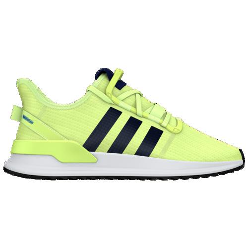 (取寄)アディダス メンズ オリジナルス U_Path ラン Men's adidas Originals U_Path Run Hi Res Yellow Collegiate Navy White