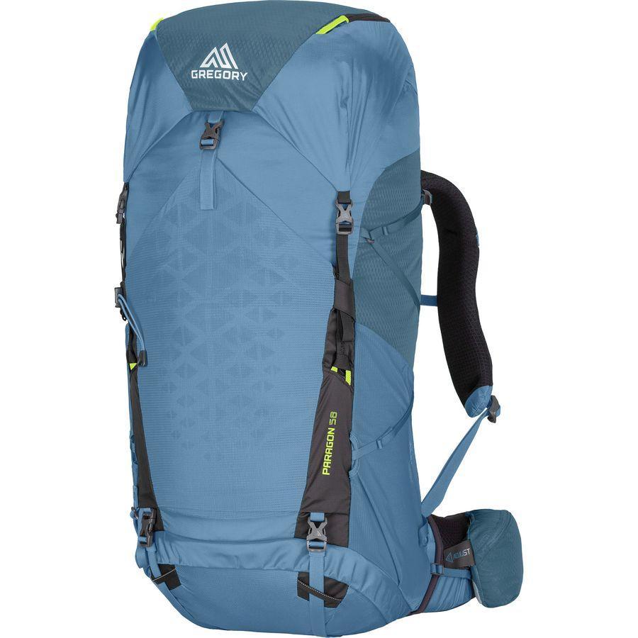 【クーポンで最大2000円OFF】(取寄)グレゴリー ユニセックス パラゴン 58L バックパック Gregory Men's Paragon 58L Backpack Omega Blue