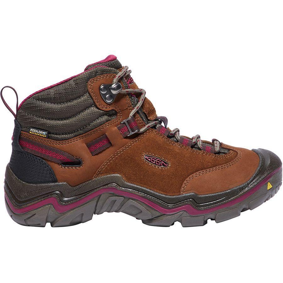 【クーポンで最大2000円OFF】(取寄)キーン レディース ローレル ミッド ハイキング ブーツ KEEN Women Laurel Mid Hiking Boot Monks Robe/Rhododendron