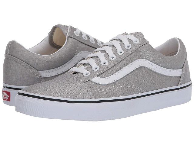 (取寄)Vans(バンズ) スニーカー オールド Skool ユニセックス メンズ レディース Vans Unisex Old Skool  Silver/True White