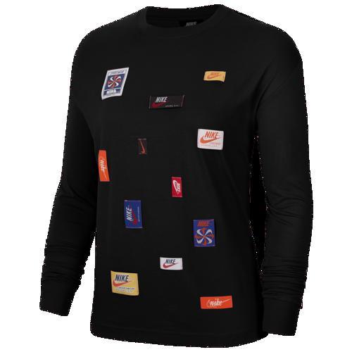 (取寄)ナイキ レディース JDIY ロング スリーブ Tシャツ Nike Women's JDIY Long Sleeve T-Shirt Black