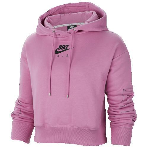 (取寄)ナイキ レディース エア フリース フーディ Nike Women's Air Fleece Hoodie Magic Flamingo Ice Silver