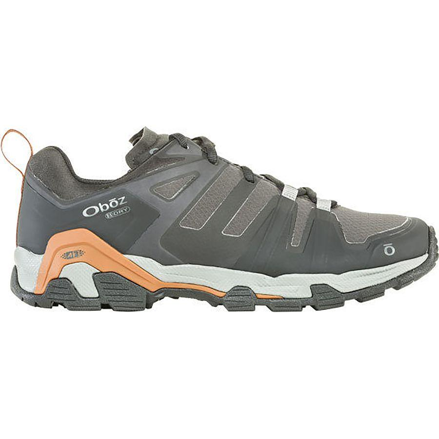 【マラソン ポイント10倍】(取寄)オボズ メンズ アリーテ ロウ B-Dry ハイキング シューズ Oboz Men's Arete Low B-Dry Hiking Shoe Black/Copper