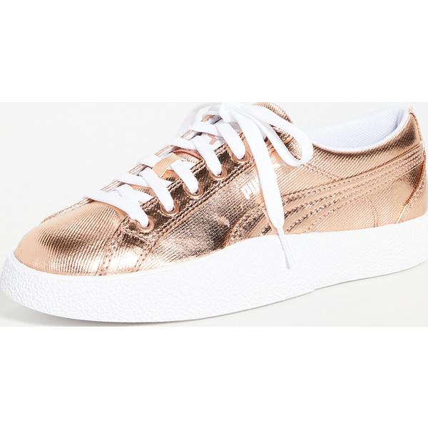 (取寄)プーマ ラブ グランド スラム スニーカー PUMA Love Grand Slam Sneakers RoseGold