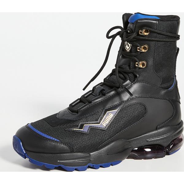 (取寄)プーマ x バルマン セル ステラ ミッド スニーカー PUMA x Balmain Cell Stellar Mid Sneakers Black