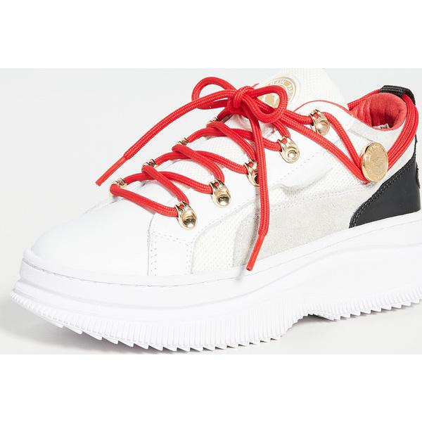 (取寄)プーマ x バルマン ディーバ ロウ スニーカー PUMA x Balmain Deva Low Sneakers White