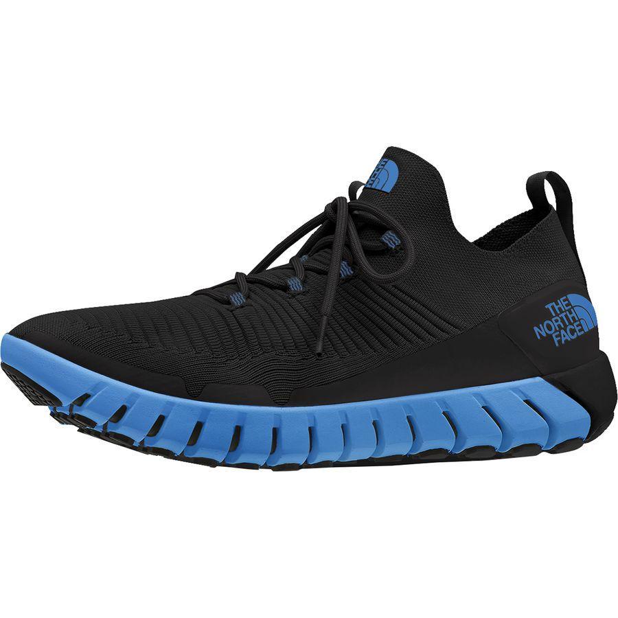 (取寄)ノースフェイス メンズ オシレイト シューズ The North Face Men's Oscilate Shoe TNF Black/Clear Lake Blue