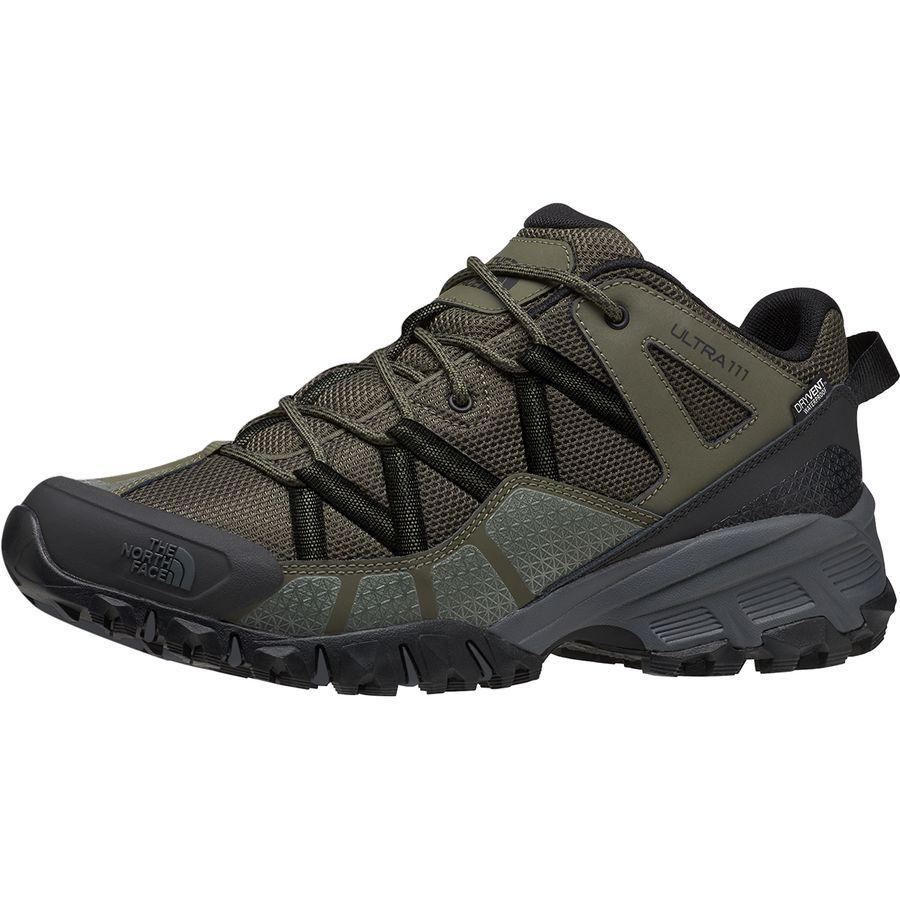 【クーポンで最大2000円OFF】(取寄)ノースフェイス ユニセックス ウルトラ 111 トレイル ランニング シューズ The North Face Men's Ultra 111 Trail Running Shoe Running Shoes New Taupe Green/TNF Black