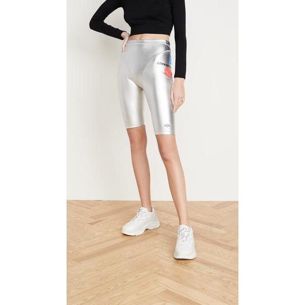(取寄)アディダス オリジナルス バイ アレキサンダーワン レディース シルバー ショーツ adidas Originals by Alexander Wang Women's Silver Shorts SilverMetallic
