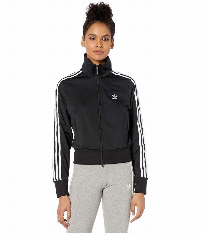 (取寄)アディダス オリジナルス レディース アディカラー クラシックス ファイヤーバード トラック トップ adidas originals Women adiColor Classics Firebird Track Top Black/White