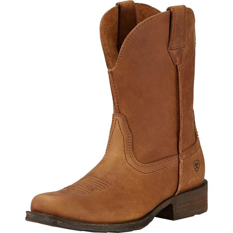 (取寄)アリアト レディース ランブラー ブーツ Ariat Women Rambler Boot Dusted Brown