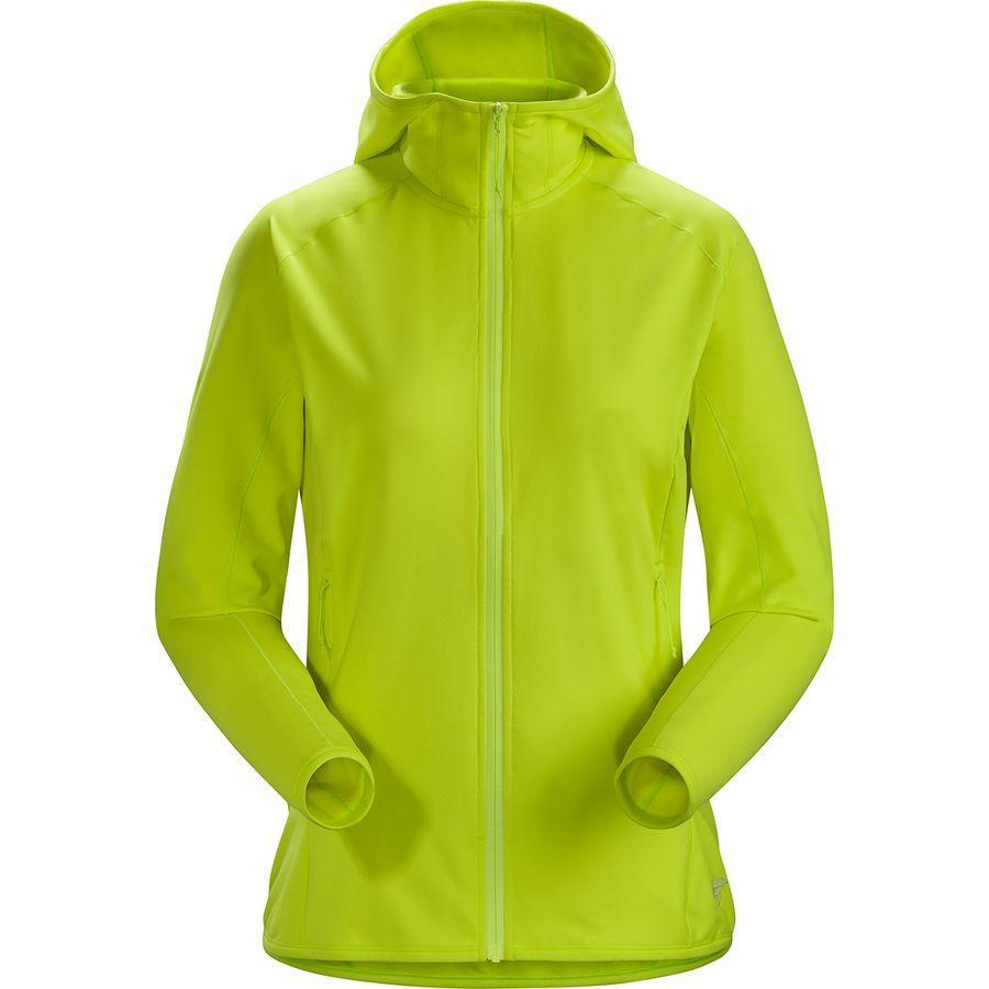 (取寄)アークテリクス レディース Adahy フーデッド フリース ジャケット Arc'teryx Women Arc'teryx Adahy Hooded Fleece Jacket Electrolyte