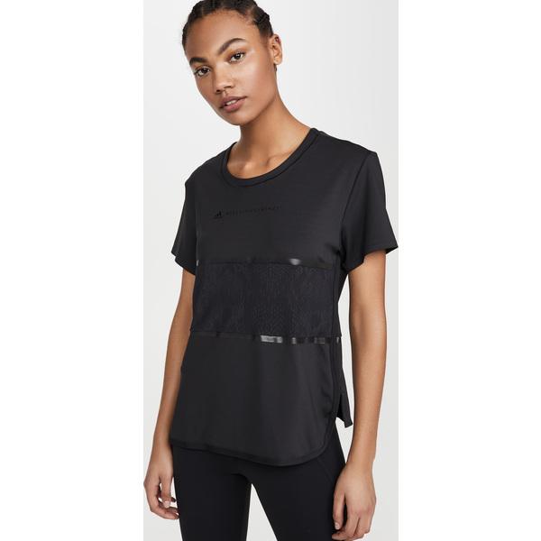 (取寄)アディダス バイ ステラ マッカートニー レディース ルーズ パフォーマンス ティー adidas by Stella McCartney Women's Loose Performance Tee Black