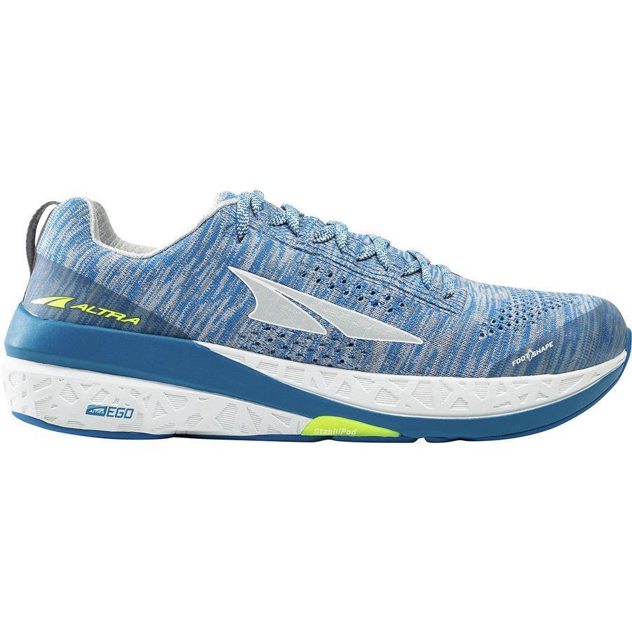 【マラソン ポイント10倍】(取寄)アルトラ メンズ パラダイム 4.0 ランニング シューズ Altra Men's Paradigm 4.0 Running Shoe Running Shoes White/Blue