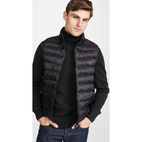 【エントリーでポイント10倍】(取寄)バブアー ブレットビー ジレ ベスト Barbour Bretby Gilet Vest Black