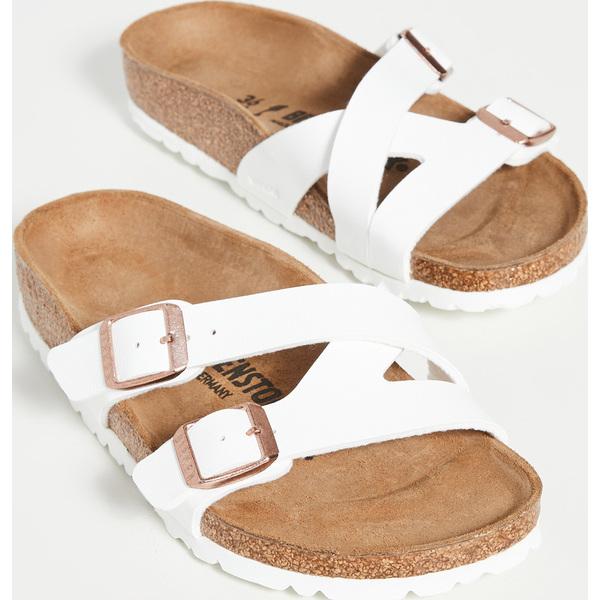 (取寄)ビルケンシュトック ヤオ サンダル Birkenstock Yao Sandals White