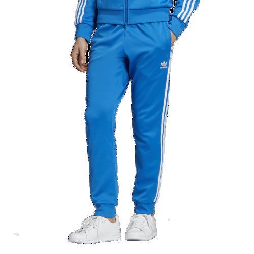 (取寄)アディダス メンズ オリジナルス スーパースター トラック パンツ Men's adidas Originals Superstar Track Pants Bluebird White