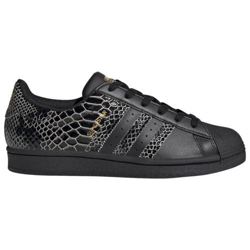 (取寄)アディダス スニーカー レディース オリジナルス スーパースター Women's adidas Originals Superstar Black Black Gold Metallic