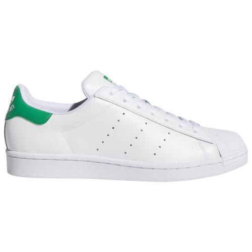 (取寄)アディダス スニーカー メンズ オリジナルス スーパースタン Men's adidas Originals Superstan White Green