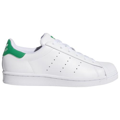 (取寄)アディダス スニーカー レディース オリジナルス スーパースタン Women's adidas Originals SuperStan White White Green