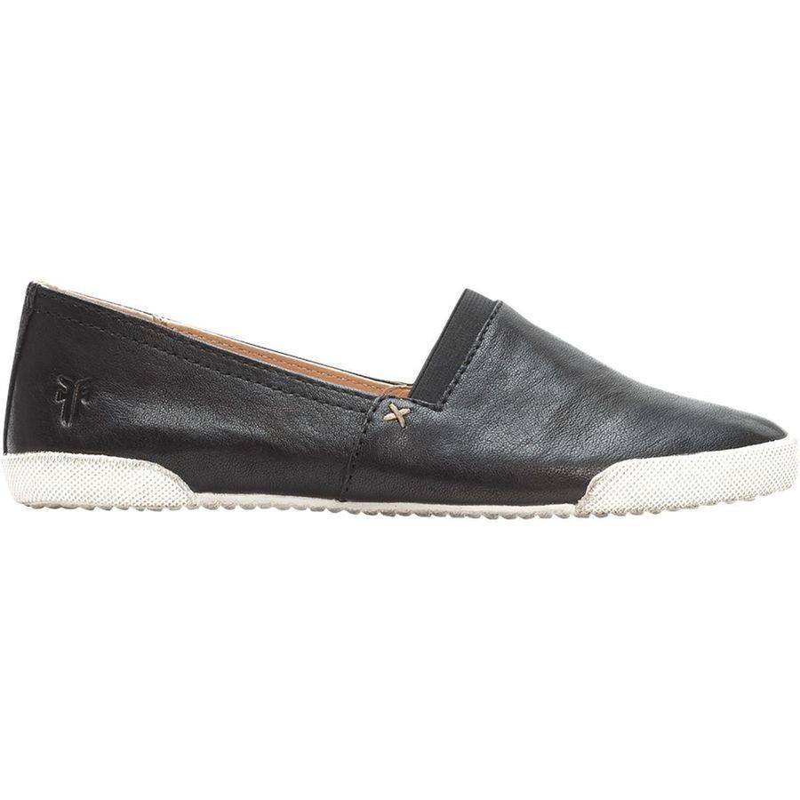 (取寄)フライ レディース メラニー スリップ オン シューズ Frye Women Melanie Slip On Shoe Black