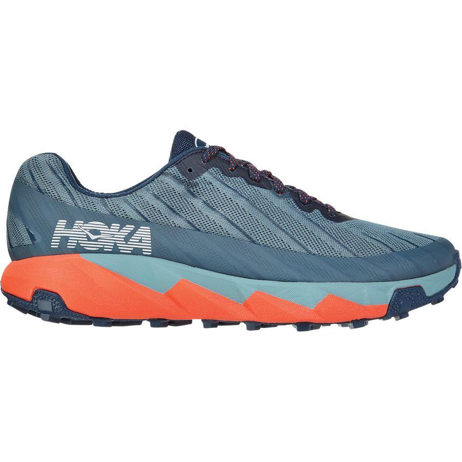(取寄)ホカ オネ オネ メンズ トレント トレイル ランニング シューズ HOKA ONE ONE Men's Torrent Trail Running Shoe Running Shoes Moonlit Ocean/Lead