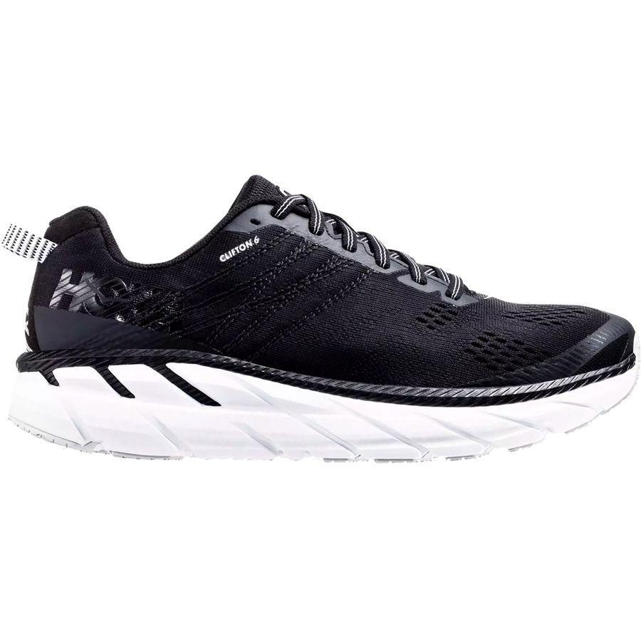 (取寄)ホカ オネ オネ メンズ クリフトン 6 ランニング シューズ HOKA ONE ONE Men's Clifton 6 Running Shoe Running Shoes Black/White