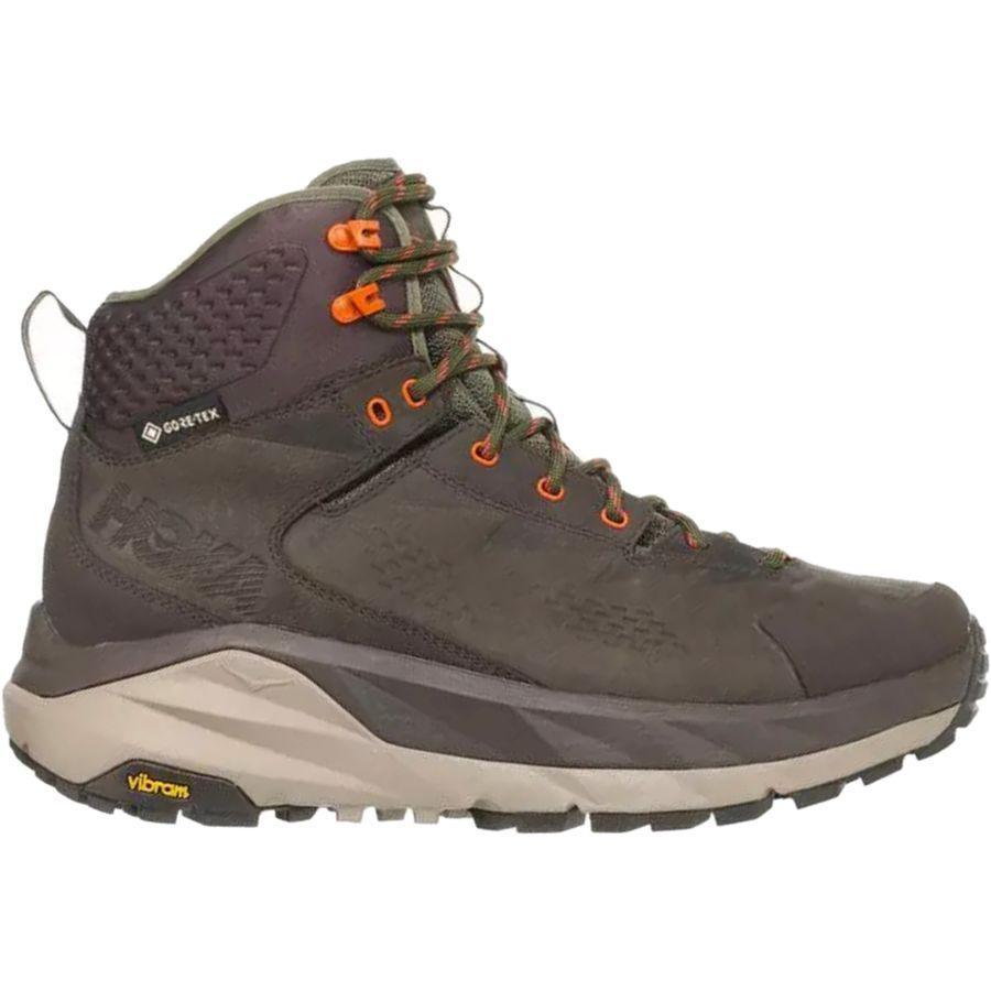 (取寄)ホカ オネ オネ メンズ スカイ カハ ハイキング ブーツ HOKA ONE ONE Men's Sky Kaha Hiking Boot Black Olive/Green