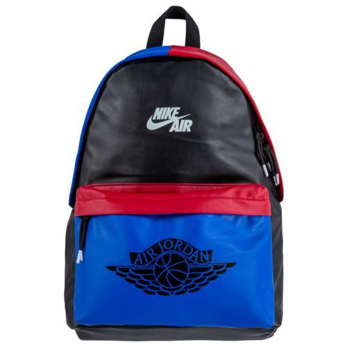 (取寄)ジョーダン AJ1 バックパック Jordan AJ1 Backpack Black Royal Gym Red