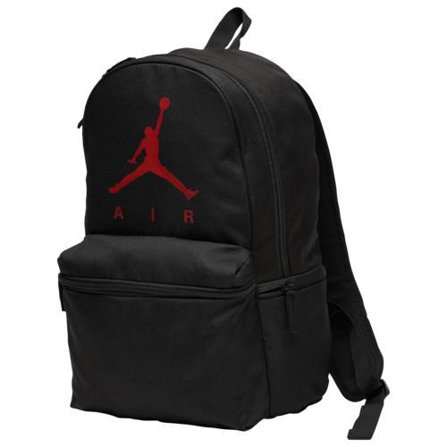(取寄)ジョーダン エア バックパック Jordan Air Backpack Black Gym Red