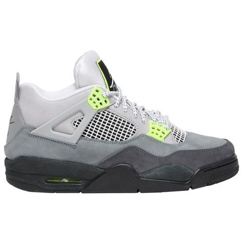 (取寄)ジョーダン メンズ シューズ レトロ 4 Jordan Men's Shoes Retro 4 Cool Grey Volt Wolf Grey Anthracite