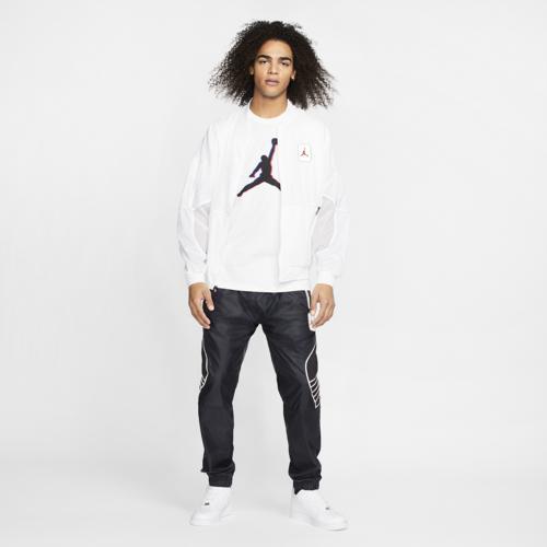 【エントリーでポイント10倍】(取寄)ジョーダン メンズ レトロ 5 ジャケット Jordan Men's Retro 5 Jacket White University Red