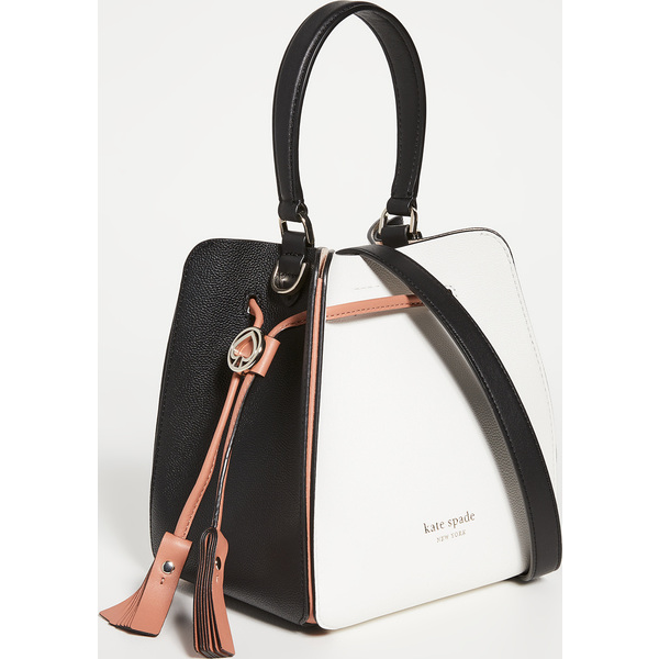 (取寄)ケイトスペード ボクシー スモール バケット バッグ Kate Spade New York Boxy Small Bucket Bag OpticWhiteMulti