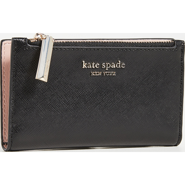 (取寄)ケイトスペード スペンサー スリム バイフォールド ウォレット Kate Spade New York Spencer Slim Bifold Wallet Black