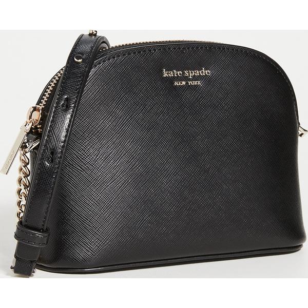 (取寄)ケイトスペード スペンサー スモール ドーム クロスボディ バッグ Kate Spade New York Spencer Small Dome Crossbody Bag Black