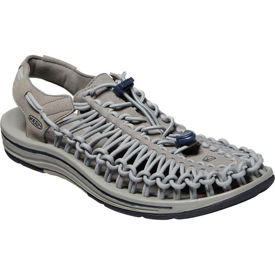 (取寄)キーン メンズ ユニーク サンダル KEEN Men's Uneek Sandal Steel Grey/Drizzle