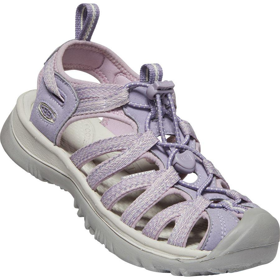 (取寄)キーン レディース ウィスパー サンダル KEEN Women Whisper Sandal Lavender/Dawn Pink