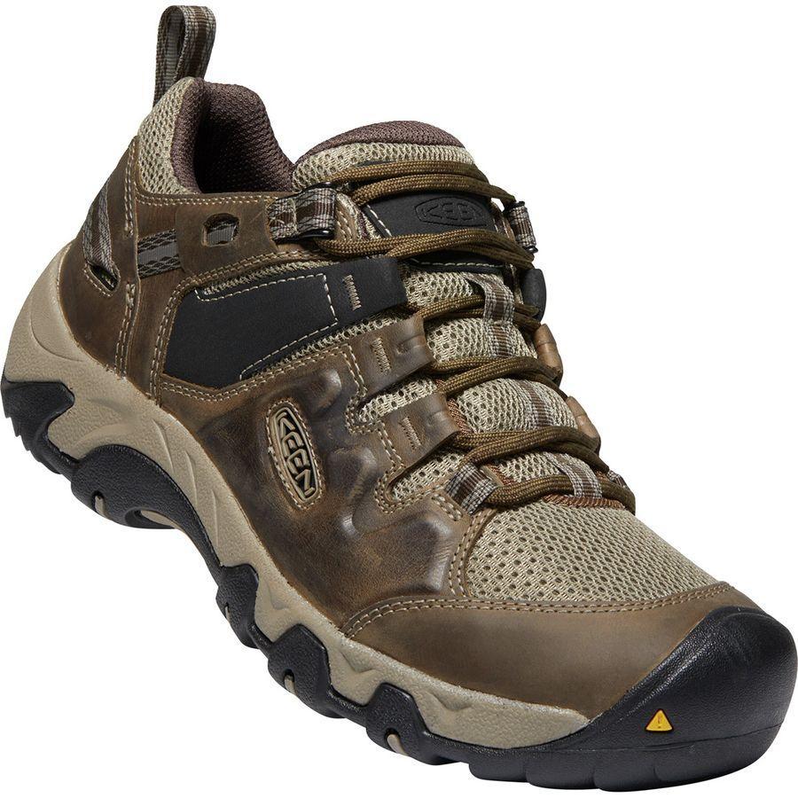 (取寄)キーン メンズ スティーンズ ベント ハイキング シューズ KEEN Men's Steens Vent Hiking Shoe Canteen/Brindle