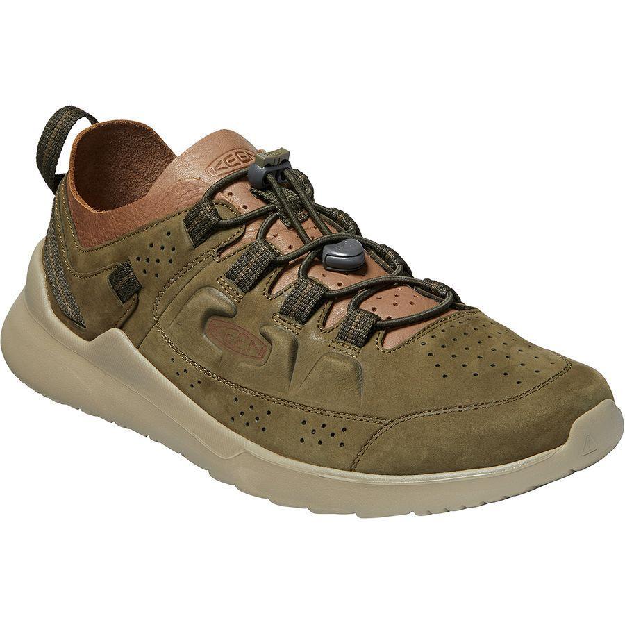 (取寄)キーン メンズ ハイランド シューズ KEEN Men's Highland Shoe Dark Olive/Plaza Taupe